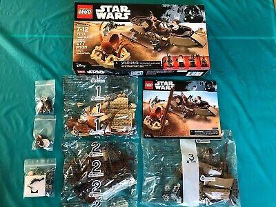 LEGO Star Wars 75174 Desert Skiff Escape Retired Set Brand New w Custom Blasters