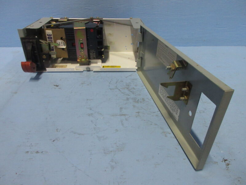 """General Electric GE 8000 90 Amp Breaker Type 6"""" MCC Feeder Bucket 90A THED136090"""