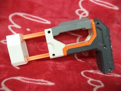 Nerf Modulus Elite Shoulder Stock and Magazine Holder Attachment - White