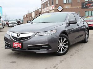 2017 Acura TLX Technology Package Navi-Lane Keep Assist-Sunroof