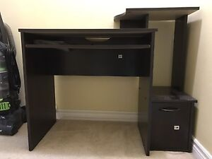 Desk Top Table with CPU compartment