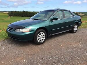 2002 accord 5 speed 4cyl A/C new inspection,2 sets rims/tires