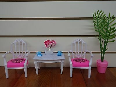 Gloria, Barbie Doll House Furniture/(96007) Tea for Two Play Set