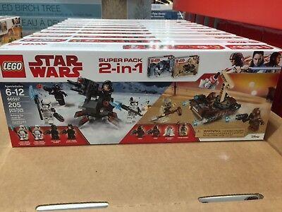 LEGO Star Wars 66597 Super 2 Pack Set First order / Tatooine