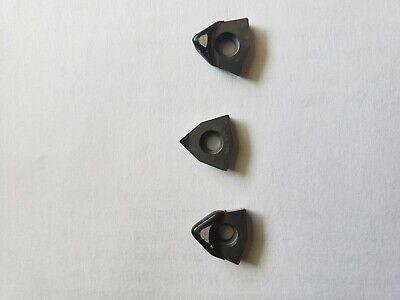 3 Pcs New Komet W01349400457 Cbn Tipped Insert Xcb Diamond Cnc Tooling Machinist