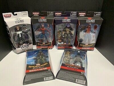 Marvel Legends Spider-Man MCU Lot Vulture Mysterio Venom Homemade Suit NEW!