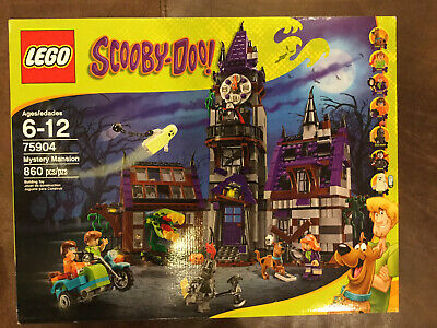 Lego Scooby-Doo, 75904, Mystery Mansion. New, Unooened Box.