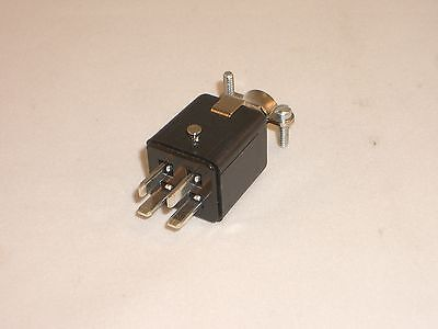 Cinch Jones Beau Molex P-304-cct 38331-5604 Power Connector Plug 4 Pin