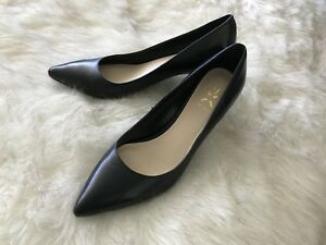 Brand new black leather pumps by nine West