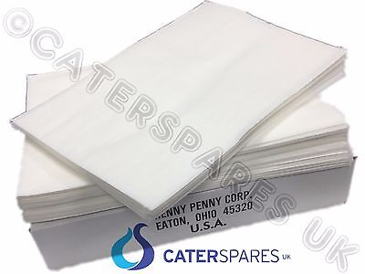 Henny Penny Chicken Fryer Oil Filter Paper Original Filter Sheets X 100 Pieces