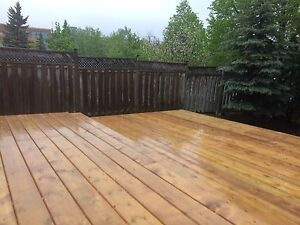 Affordable Deck, fences, railings and gates