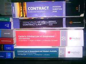 Textbooks Law and Criminology Merrimac Gold Coast City Preview