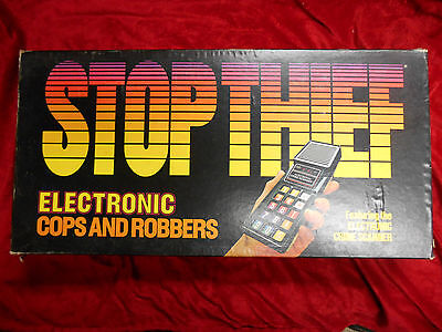 Stop Thief Parker Brothers Board Game, Complete & Working, Vintage 1979