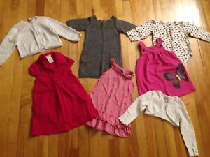 Size 2 / 24 month Girl Clothes - over 90 items!