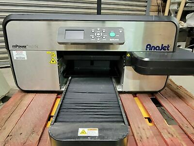 Anajet Mp5i Mpower Apparel Printer Dtg Direct To Garment - 2691 Printer Count