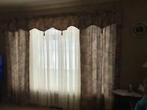 Curtain and sheers