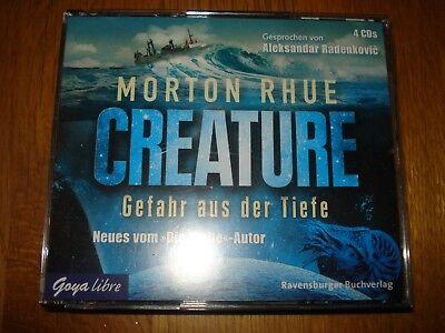 CREATURE GEFAHR AUS DER TIEFE H RBUCH 4 CD S MORTON RHUE