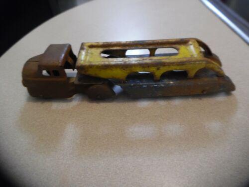 Vintage Press Steel Car Hauler For Restore