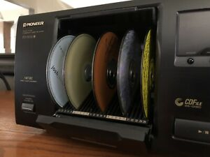 '97 PIONEER PD-F506 25 Disk CD player Changer Japan crafted