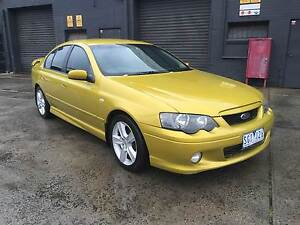 2003 Ford Falcon BA XR6 MANUAL ACID RUSH West Footscray Maribyrnong Area Preview