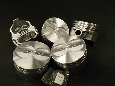 NEW FEDERAL MOGUL H600P 030 Chevy 383 3.75 Stroker pistons 4.030 bore clips pins - Federal Mogul Pistons