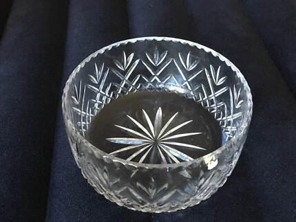 Crystal Bohemia 24cm bowl - perfect Christmas gift