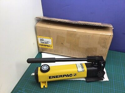 Enerpac P-142 Hydraulic Hand Pump 10000psi 14 Npt 2 Speed Nice