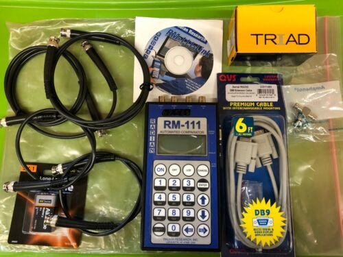 Radian Research RM-111 Automated Comparator Testing Watthour Billing Meter Kits