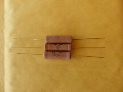 - Lot of 3 CADDOCK Film Power Resistors 33K 10W 1% MS310 Non-inductive New