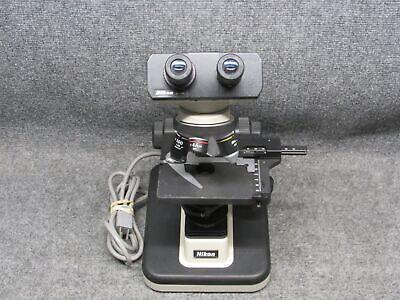 Nikon Alphaphot Ys2-t Medical Binocular Microscope With 4 Objectives Working