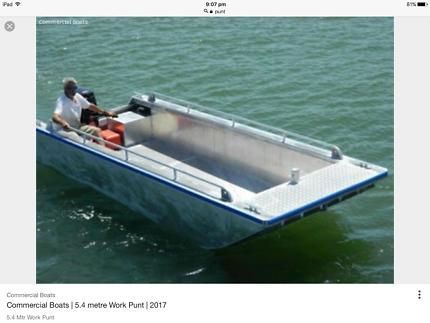 24/7 Barge punt boat hire