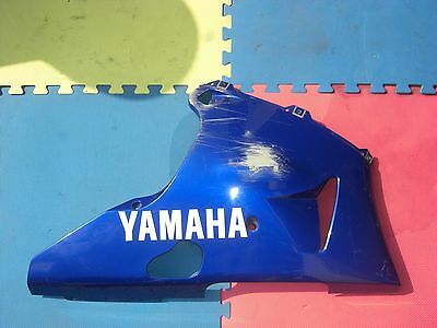 Right side lower fairing belly pan under cowl Yamaha R1 YZF OEM 98 99 00 01