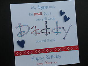 Personalised-handmade-birthday-card-daddy-dad-grandad-granddad-Fathers-day