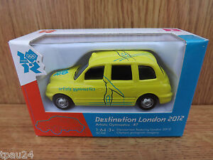 Corgi Destination London 2012 Olympics Model Taxi #7 Artistic Gymnasti