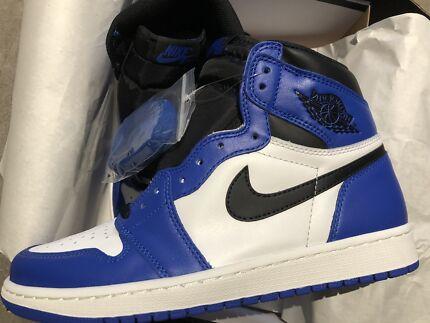 Nike Air Jordan 1 Royal Blue SZ us9 Chadstone Monash Area Preview