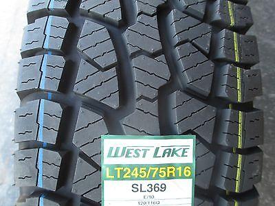 4 New LT 24575R16 Westlake SL369 Tires 75 16 R16 2457516 AT All Terrain 10 Ply