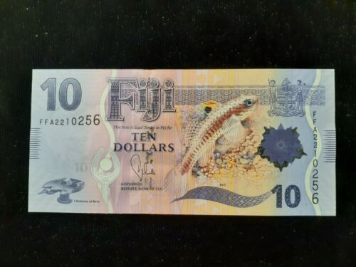2013  $10.00  FIJI  P-NEW  POLYMER