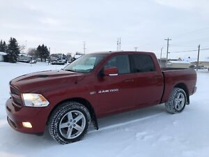 Just in time for winter!  2012 Dodge Ram 1500 Sport 4x4 Crew Cab