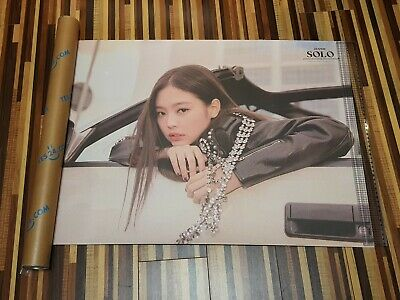BlackPink Jennie Solo Limited Poster , Rare