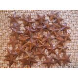 Lot of 100 Rusty Barn Stars 1.5 inch Rustic Primitive Country Rusted SHIPS FREE!