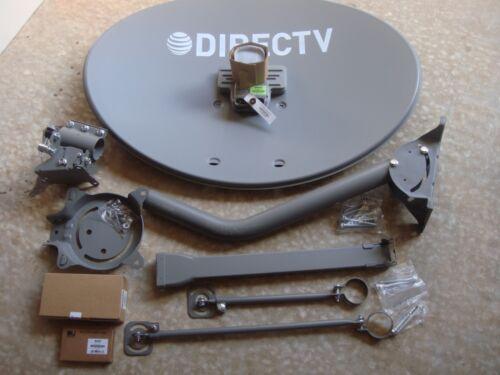 Directv Dish Dtv Slimline Kaku Satellite Antenna Swm 3 Lnb Sl3s Dswm3 J-mount
