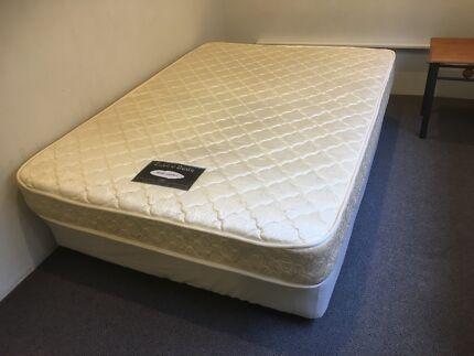 Darlinghurst Queen Enviro Bed, plus base on castors. Body Comfort