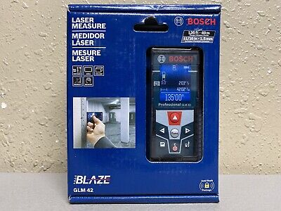 Bosch Blaze 135 Ft. Laser Measure - Glm 42 New Sealed