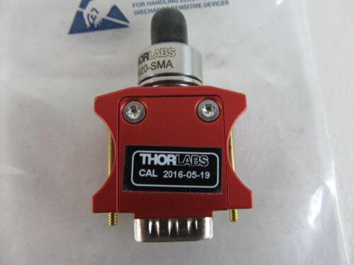 Thorlabs S150C Fiber Photodiode Power Sensor, Si, 350 - 1100 nm, 5 mW