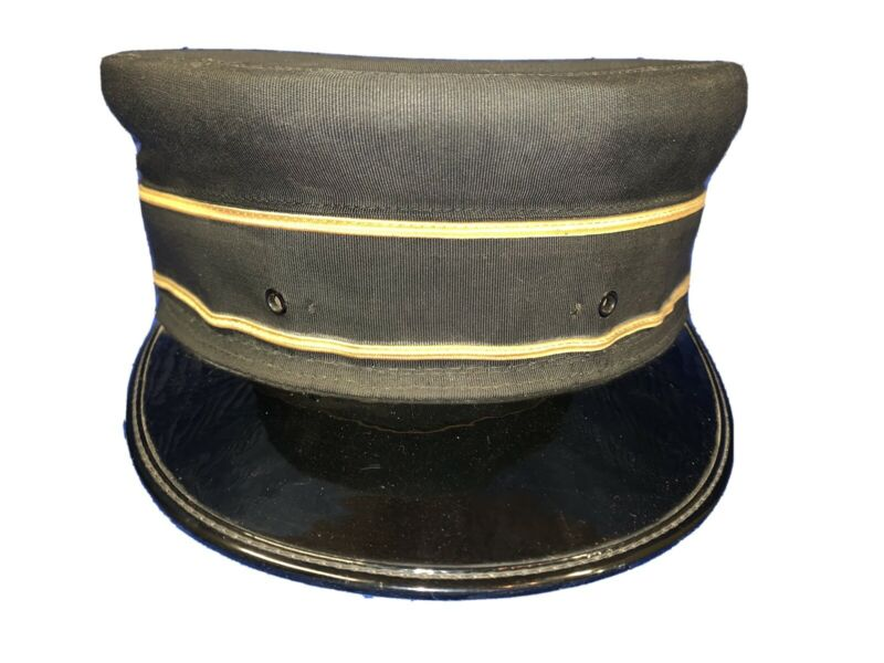 1964 NYC New York Central System Railroad Train Conductor Pillbox Hat