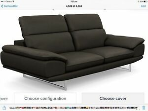 LEATHER SOFAS TOP QUALITY CURRENT  MODEL Glenelg Holdfast Bay Preview