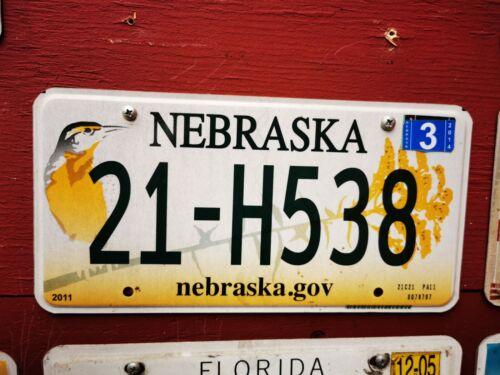 USA Kennzeichen NEBRASKA License PLATE