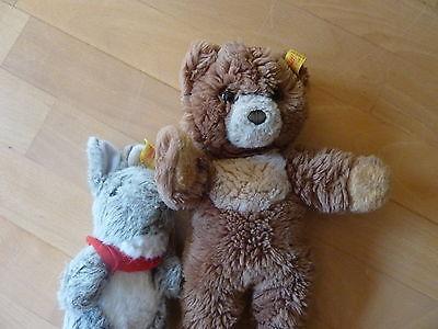 2 Steiff Kuscheltiere Bär und Hase