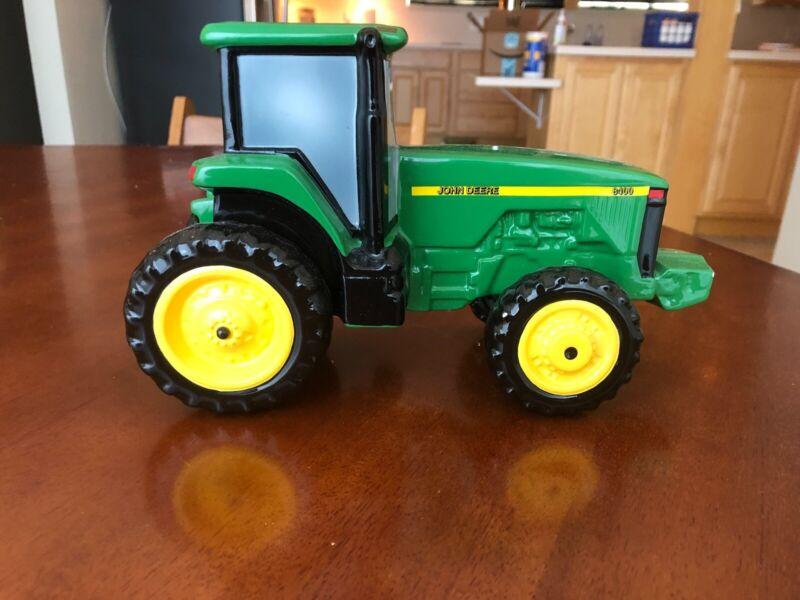1998 Enesco John Deere 8400 Collectible Ceramic Tractor Bank Registration number