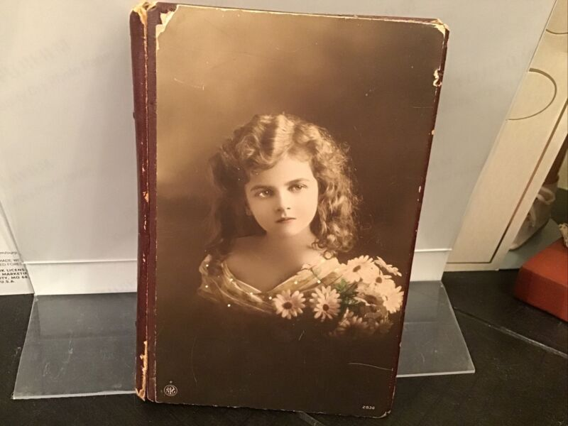 Antique Peri - Lusta Sewing Advertising Needle Case Book Huswife